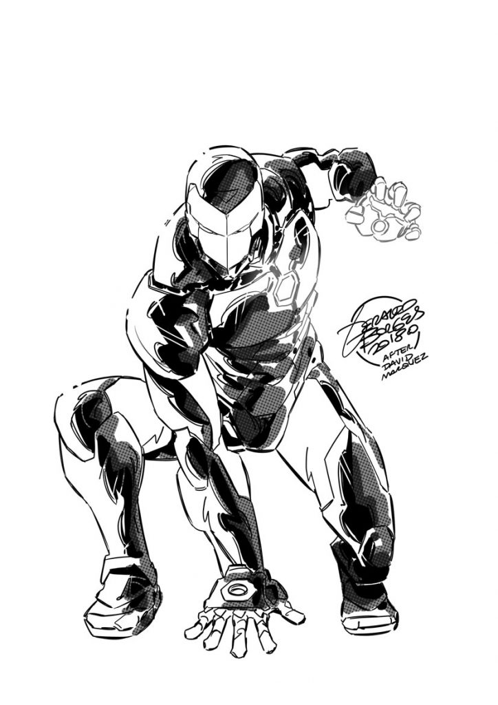 Iron Man Instagram